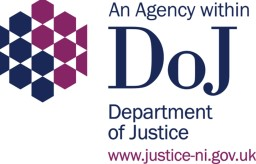 Logo for An Agency within the Department of Justice Northern Ireland
