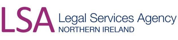 Logo for the Legal Services Agency Northern Ireland